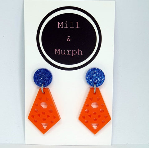 Mini Geo Kite Dangles