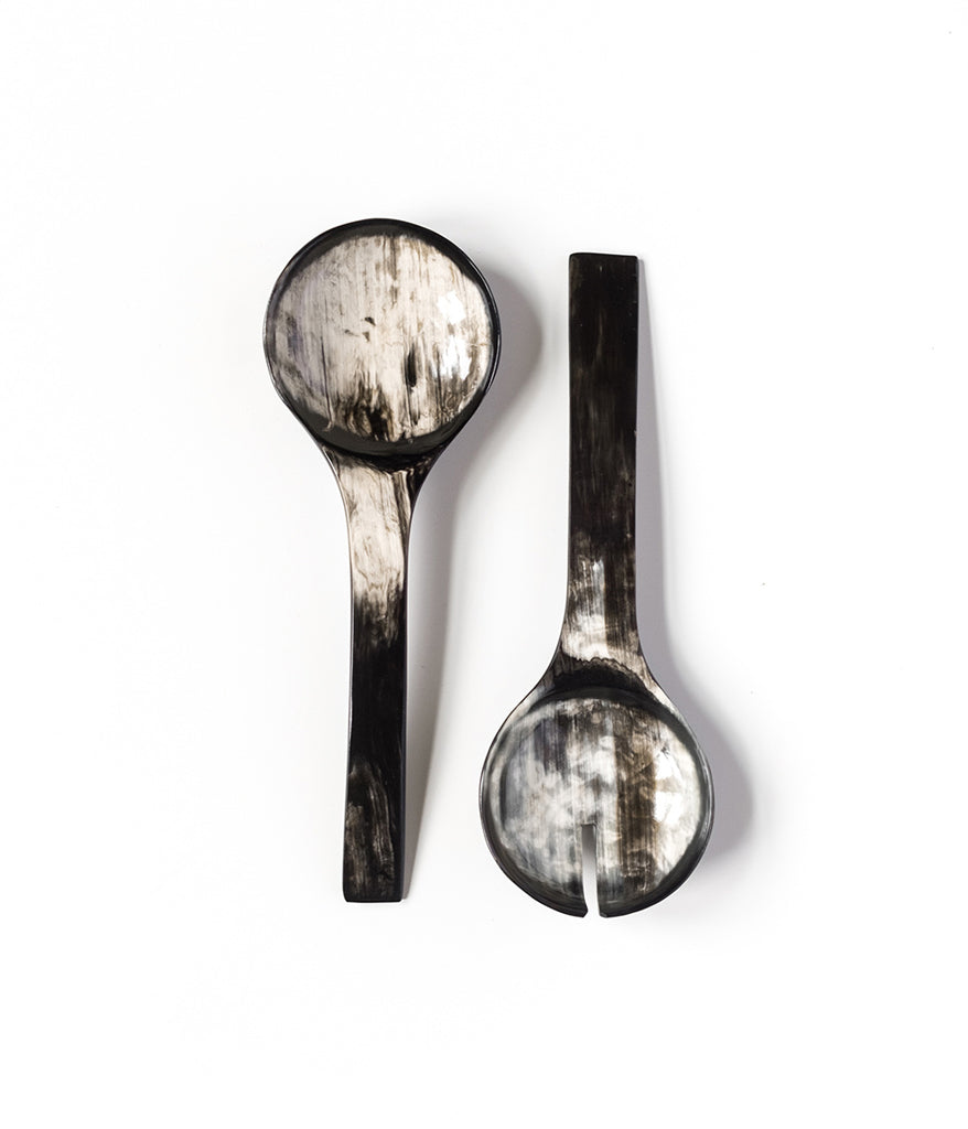 Ankole Horn Serving Spoon Sets,  - Rose & Fitzgerald