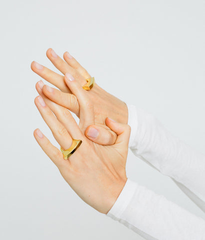 Bowed Ring - Gold Vermeil - Rose & Fitzgerald