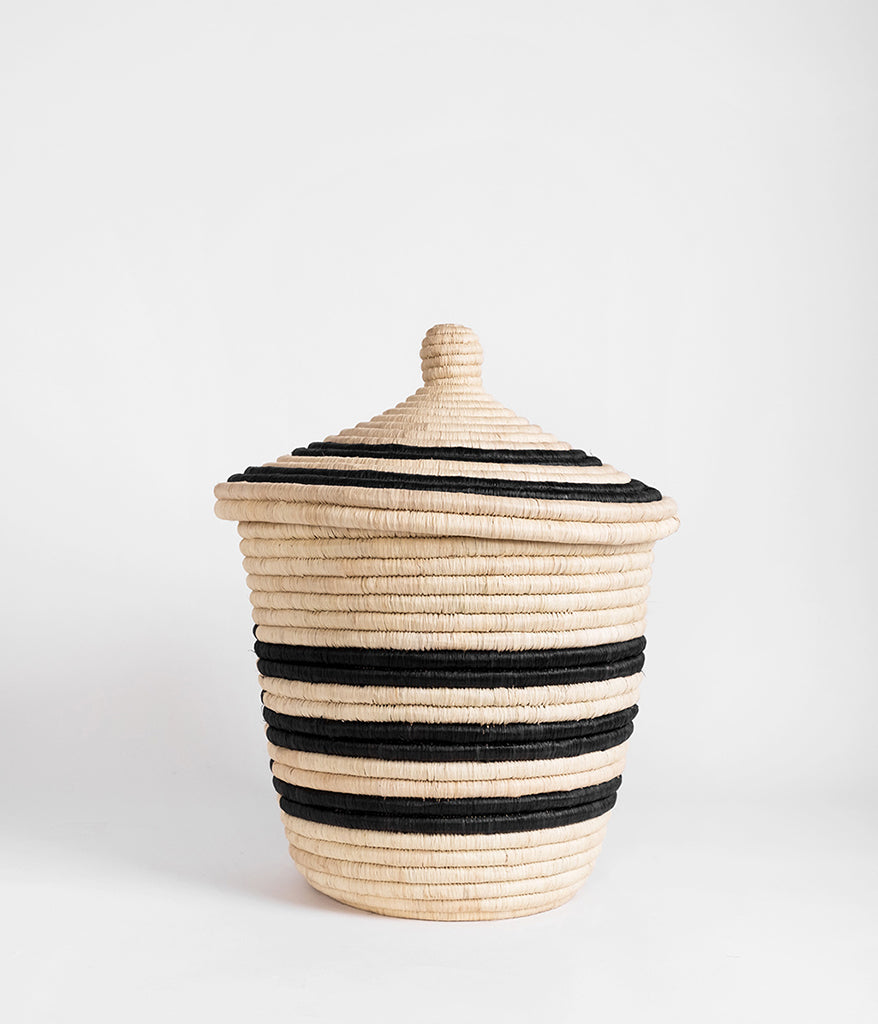 Palm Spiral Basket - Rose & Fitzgerald
