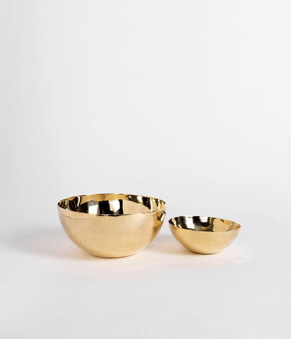 Pure Brass Bowls - Rose & Fitzgerald