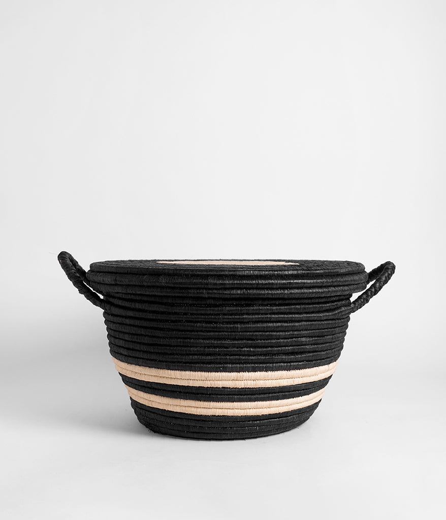 Palm Bullseye Basket,  - Rose & Fitzgerald