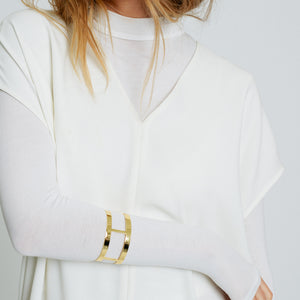 Channels Cuff - Gold Vermeil