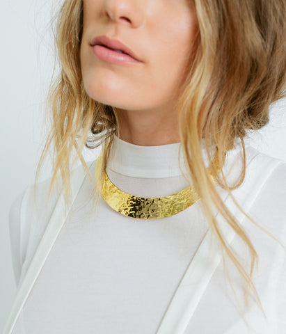 Hammered Choker,  - Rose & Fitzgerald