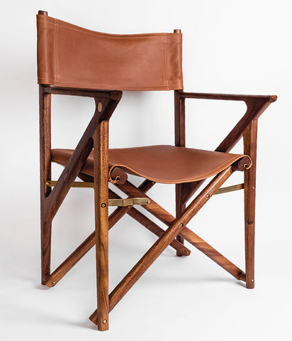 Baker's Modern Safari Chair - Mugavu - Rose & Fitzgerald