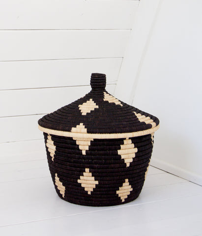 Palm Diamond Basket