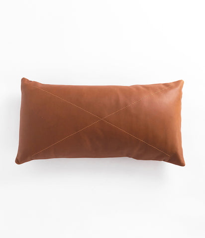 Leather Safari Lumbar Pillow,  - Rose & Fitzgerald