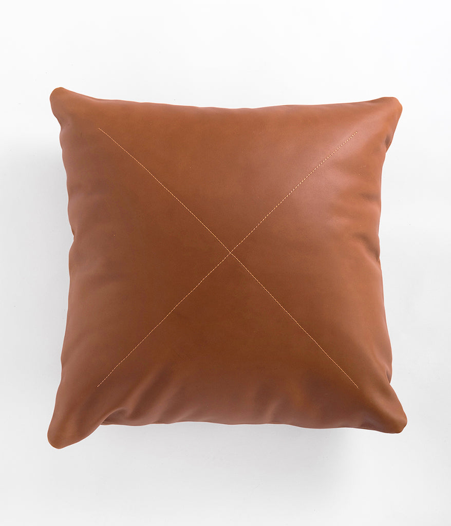 Leather Safari Pillow,  - Rose & Fitzgerald