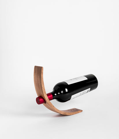 Bottle Holder - Teak - Rose & Fitzgerald