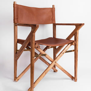 Baker's Modern Safari Chair - Teak