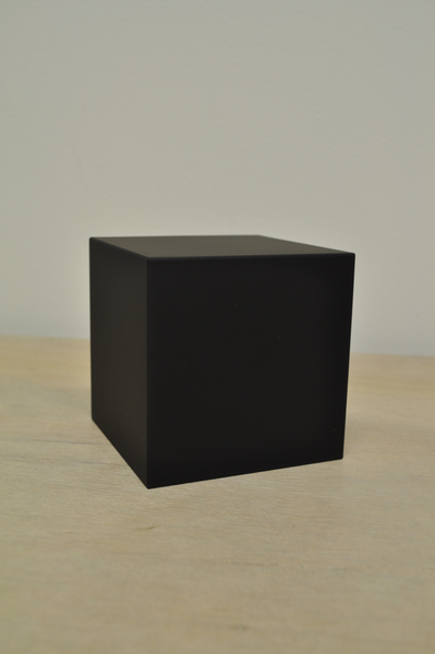 MoMA Color Cube Clock in Black