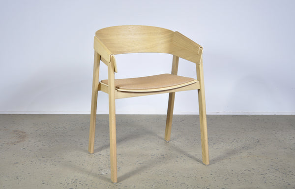 Muuto Cover chair in oak.
