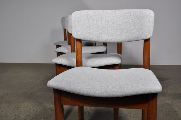 Chiswell dining chairs. Set of four.