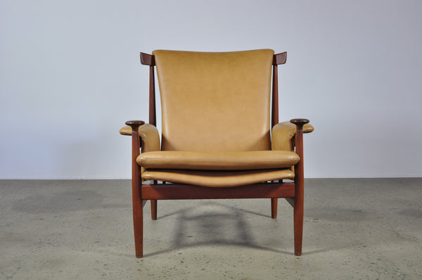 Finn Juhl Bwana chair with ottoman - Case 22
