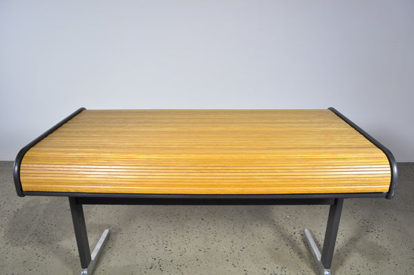 George Nelson Roll Top Desk by Herman Miller.