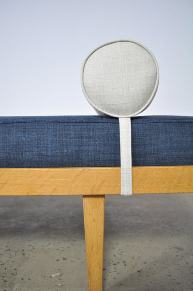 Daybed by Horsnaes Møbler . Fabric by Warwick