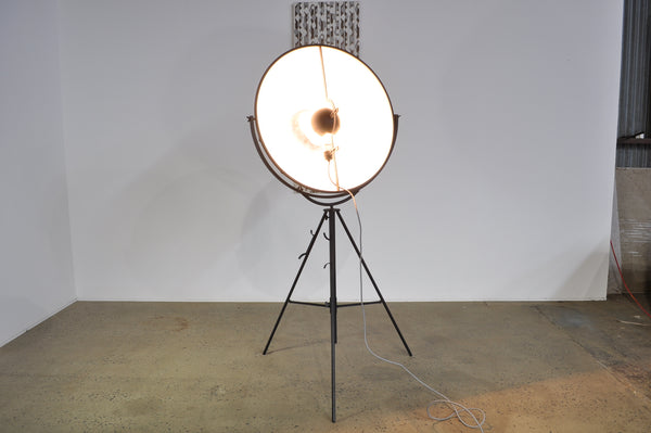 Fortuny floor lamp.