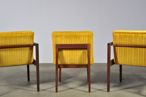 George Nelson dining chairs in two colour ways - Case 22