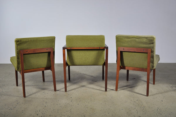 George Nelson dining chairs in two colour ways