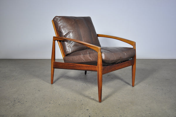 "Kai Kristiansen model 121 ""paper knife"" lounge chair."