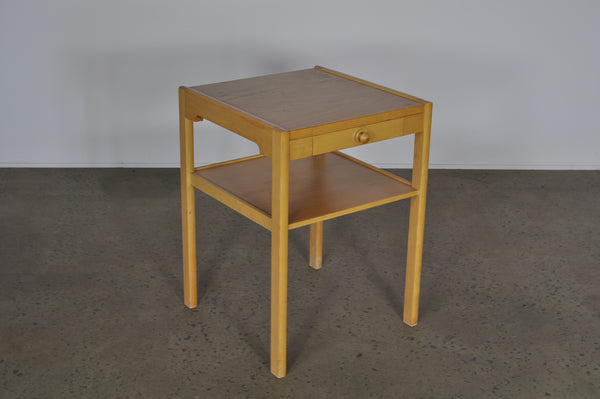 Bed/Side table of Beech.