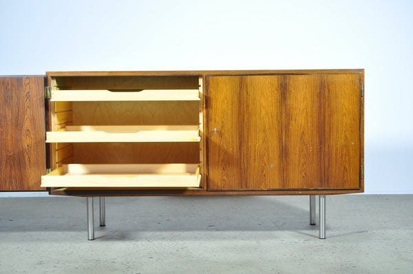 Rosewood two door sideboard