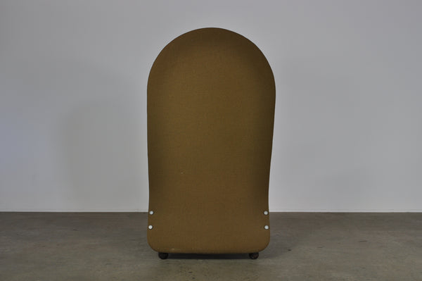 "Verner Panton ""System 1-2-3"" Lounge Chair."