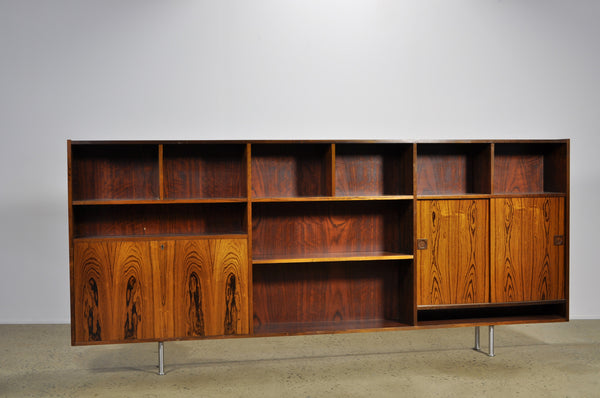 Danish Rosewood Wall Unit - Case 22