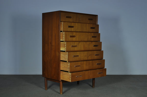 Danish chest of seven draws.