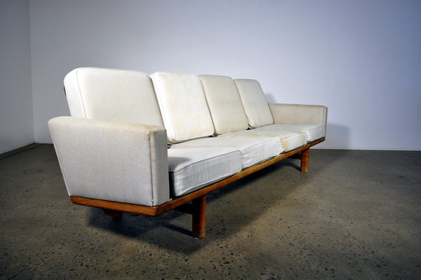 Wegner 236 Sofa by GETAMA. To undergo complete restoration.