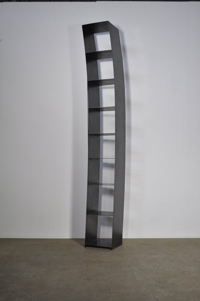 Verspanntes regal bookshelf by Wolfgang Laubersheimer.