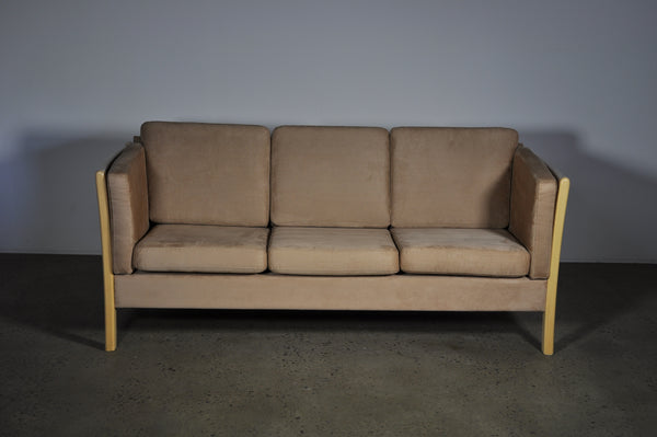 Three seat Sofa in Microfibre.
