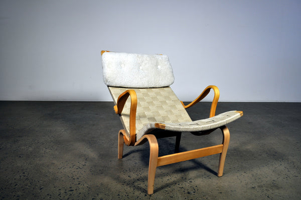 Bruno Mathsson Pernilla Easy Chair by Karl Mathsson.