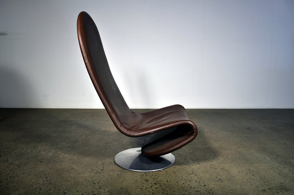 Verner Panton 1-2-3 Lounge chair. Two styles.