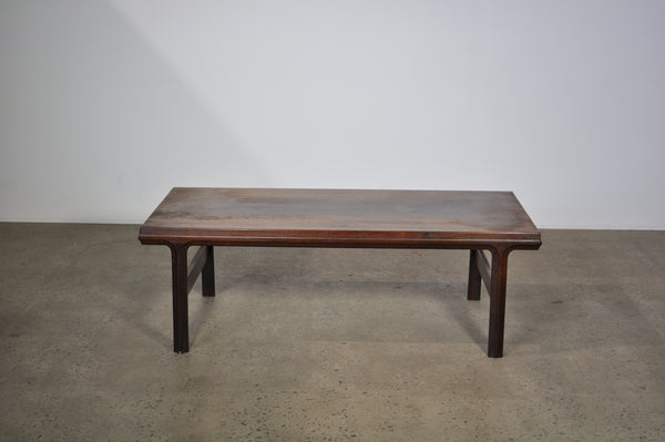 Rosewood Coffee table.