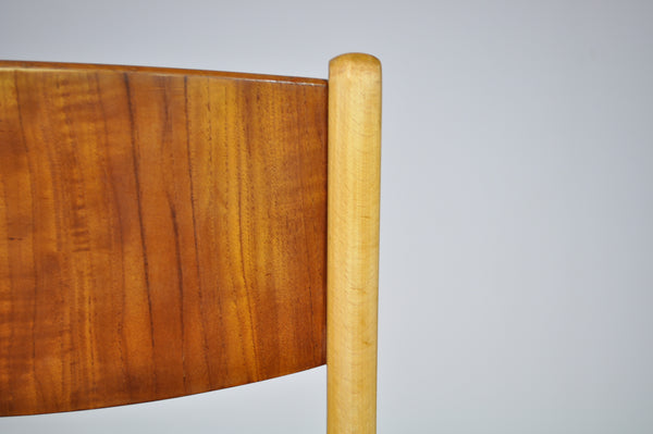 Danish school dining chairs.