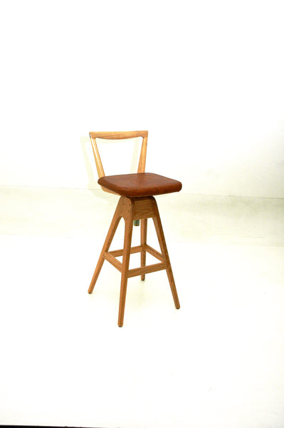 TH Brown Danish Stool