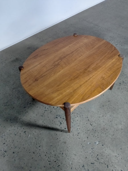 Teak coffee table.