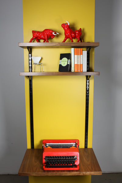 Wallhung shelving unit and desk - Case 22