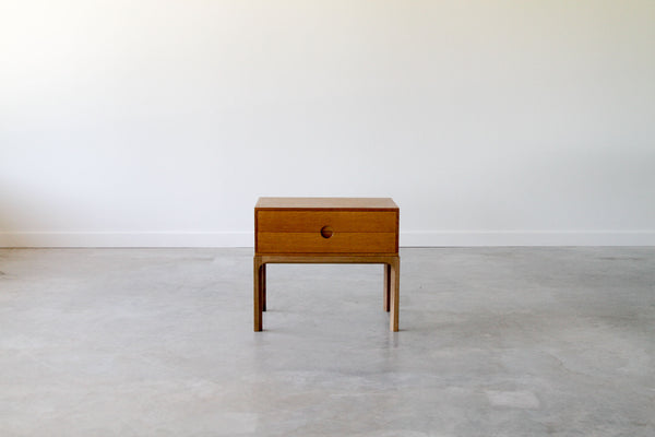 Askel Kjersgaard chest of draws in Teak or Oak.
