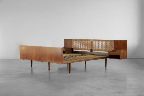 European King Sized Bed by Hans Wegner.