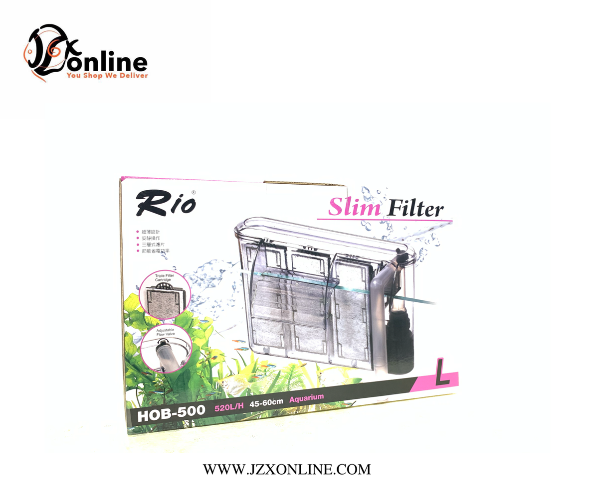 RIO Slim Hang On Filter HOB-500