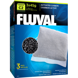 FLUVAL C2 Activated Carbon (3 x 45g)