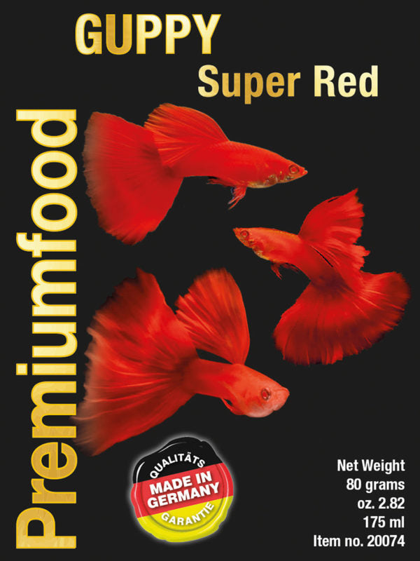 DISCUSFOOD Guppy Super Red 80g