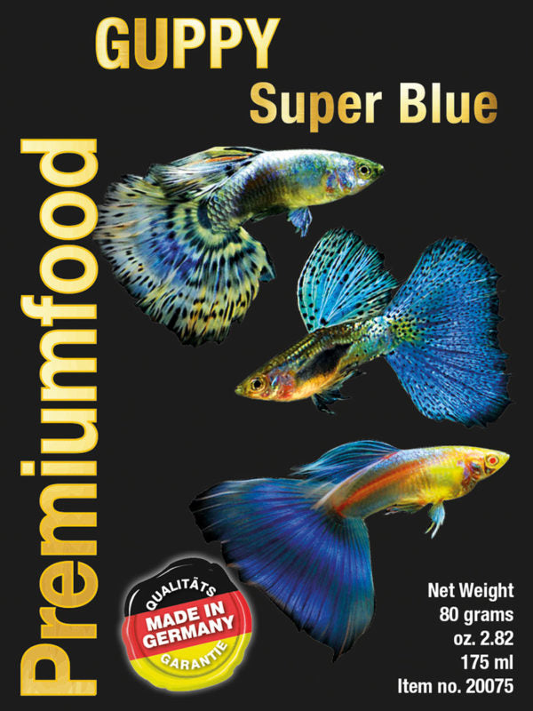 DISCUSFOOD Guppy Super Blue 80g