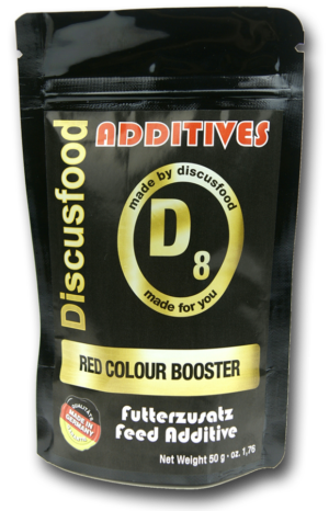 DISCUSFOOD Additives D8 Red Colour Booster 50g