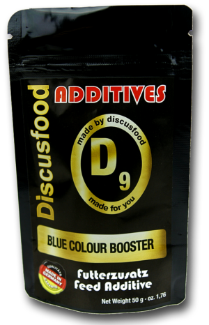 DISCUSFOOD Additives D9 Blue Colour Booster 50g