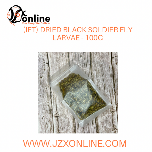 (IFT) Dried Black Soldier Fly Larvae - 100g
