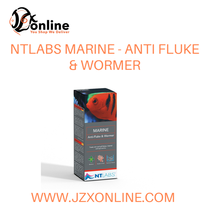 NT LABS Marine Anti-Fluke & Womer - 100ml