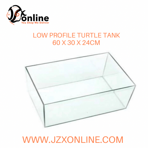 Low Profile Turtle Tank  (60 x 30 x 24cm)